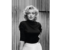 60 x 80 cm in Vita Marilyn Monroe Tela Stampa