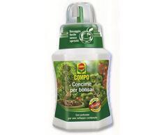 Compo 1200602005 Concime per Bonsai, 250 ml, Verde, 6.3x7x15.5 cm