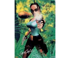 1art1 Empire 13408 Tomb Raider – Make My Day – Poster cinematografico – 61 x 91,5 cm
