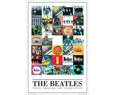 GB eye LTD, The Beatles, Through the Years, Maxi Poster, 61 x 91,5 cm
