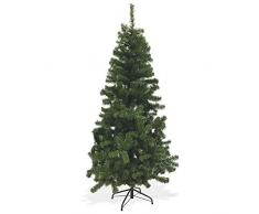 Galileo Casa Xmas Albero Natale 500 rami, PVC, Verde, 90x90x180 cm