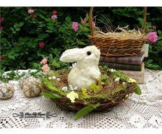 Mankvis Coniglietto di Pasqua, Decorazioni di Festa Tema Decorazione Cesto Decorazione Matrimonio Regalo Matrimonio Decorazione 20CM