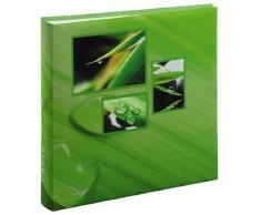 Hama Album Porta Foto Jumbo Singo, 300 Foto 10x15, Verde