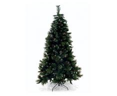 Galileo Casa 2404525 Albero Natale Xmas, PVC, Verde, 120x120x240 cm