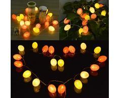 Luci Dell Uovo Di Pasqua, Funpa Luce Della Stringa Della Decorazione 7Ft 20 LED Luci Stringa Di Pasqua Per La Decorazione Domestica