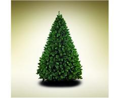 giocoplast House of Fun Germogliato Albero di Natale Maxi 180 cm, 1.251 Rami Metallo Verde