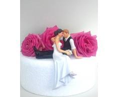 Statuetta di matrimonio sposi %2F seduti, in piedi, Decorazione per matrimoni CAKE TOPPER 10