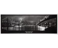 Empire 333315 Panorama Poster, New York Manhattan Ponte di Brooklyn, 158 x 53 cm