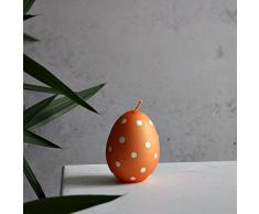 UOVO DI PASQUA Medio Candela 90 X 70 Arancione uovo Uova candela Pasqua
