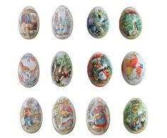 Sticker Superb Colori Casuali della Decorazione di Easter di Pasqua Decorate Scatola Regalo di Caramelle Bambini Egg Bag Libri Fai da Te di Pasqua per La Decorazione e Caccia Regalo (6Pcs)