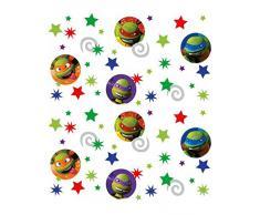 Amscan - Coriandoli per party Tartarughe Ninja, confezione da 3 pacchi
