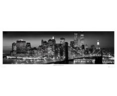 GB Eye LTD, New York, Manhattan Black - Berenholtz, Poster Porta, 53 x 158 cm