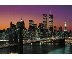 1art1 40563 - Set di 8 poster di New York e Manhattan, 368 x 254 cm