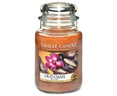 Yankee Candle Oud Oasis - Candela Profumata Giara Grande