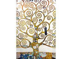 1art1 Gustav Klimt - L'Albero della Vita (Dettaglio) Poster Stampa Geante XXL (120 x 80cm)