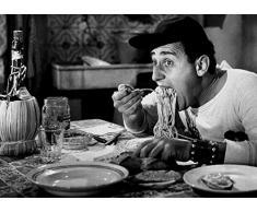 Mangiaspaghetti cod 02 Alberto Sordi Poster 35x50 Stampe Papi Arte Vendita Online Quadri Cinema Film Italiano