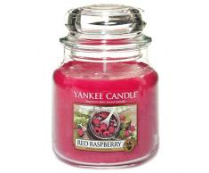 "Yankee Candle-Portacandele, colore: rosso lampone """", colore: rosso"