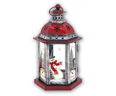 Lanterna di Natale ZEP lanterna SKIEN addobbi natalizi Portacandela KH670