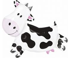 Amscan - Palloncino a forma di mucca