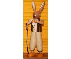 Coniglietto di pasqua, condizione, marrone, 24 montagne del minerale metallifero della decorazione di Pasqua del coniglietto di cm Seiffen pasqua NUOVE