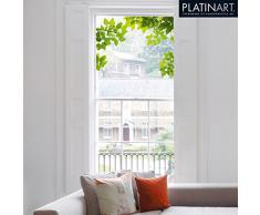Eurographics, Adesivo per finestra, motivo: Through the Tree, 50 x 70 cm, Multicolore (Mehrfarbig)