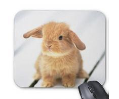 Lovely Coniglio Mousepad Serie – Coniglietto pasquale coniglio design mouse pad mouse pad rettangolo mousepad