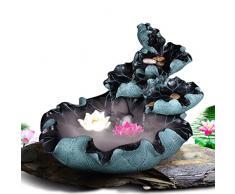 PRIDE S Flusso di decorazione del salone del Feng Shui mestieri rotonda resina casa bagnanti fontana ( colore : D )