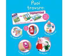 Giochi Preziosi - Calzettone Peppa Pig, lOriginale Calza della Befana con Sorprese