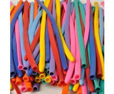 Confezione da 100 Palloncini Modellabili 260q in Colori Assortiti