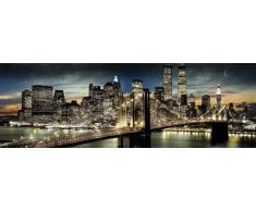 1Art1, Empire, 173232, Poster, Motivo: New York Di Notte, 158 X 53 Cm