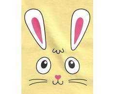 Shirtgeil Idea Regalo di Pasqua tenero Coniglietto Pasquale Maglietta Neonato Manica Lunga 12-18 Mesi Celeste