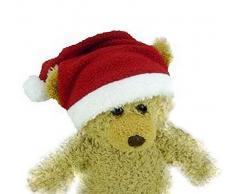 Costruisci il tuo orsi armadio da pollici vestiti adatti a costruire un orso cappello di Babbo Natale