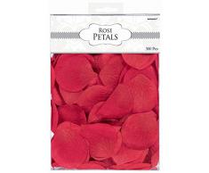 amscan International - Coriandoli a Forma di Petali di Rose, Rosso