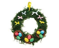 Baker Ross Mini uova glitterate (confezione da 50) - Decorazioni creative per Pasqua