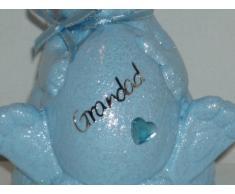 Nonno Baby Blu coniglietto pasquale Outdoor commemorativa Ornament