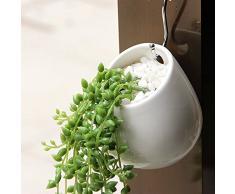Piante Vaso, Y & M (TM) Eleganza interna per casa e vasi da fiori in ceramica Piante Vaso per piante grasse e cactus