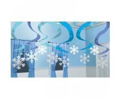 Confezione da 15 fiocchi di neve di Natale Decorazione