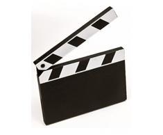 Generique - Segna Posto a Tema Cinema 8 x 6,5 cm Taglia Unica