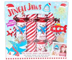Toyland® Confezione da 6 - Cracker di Natale a Tema Under The Sea per Bambini - Giochi per Feste di Natale