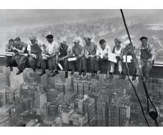 1art1 32010 - Poster New York, Pranzo in cima a un grattacielo, 1932, 91 x 61 cm