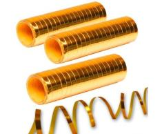 Stelle filanti metallizzate oro