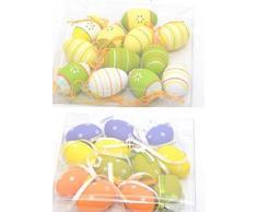 Uova di Pasqua appeso Uova Pasqua 12 pezzi decorazione haengedeko plastica 1812 – 57923
