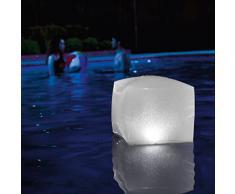 Intex 28694 Luce Galleggiante a forma di Cubo 23x23x22 cm