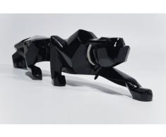 KARE, Soprammobile 32261 Black Cat 90, Nero (Schwarz)