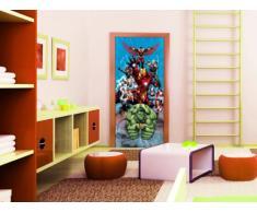 AG Design FTDv 1822Â Marvel, Carta Foto Carta da Parati, 1Â Parte, Multicolore, 0,1Â x 90Â x 202Â cm