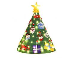 Weesey 24 Candele a LED, tealights LED Senza Fiamma, tealights tremolanti, Candele elettriche Decorazione Batteria per Natale, Albero di Natale, Pasqua, Matrimonio, Festa Bianco Caldo