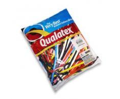 Palloncini Qualatex 260Q da modellare Busta da 100 pezzi colori assortiti