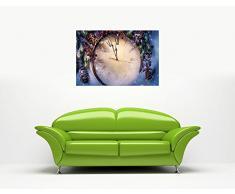 Canvas It Up Christmas orologio con cornice immagini decorazione artistica da parete con stampe da cucina, misura: A1 – 86,4 x 61 cm (86 cm x 60 cm)