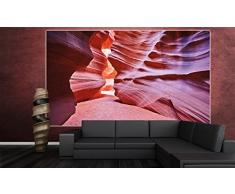 Antelope Canyon FOTOMURALE – Slot Canyon quadro da parete – XXL poster Antelope deserto decorazione da parete America USA Stati Unit i d ' America by GREAT ART (210 x 140 cm)