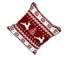AySh Linen Natale Decorativo Stampato Fodera Di Cuscino Cotone Divano Federa Home Décor